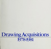 Drawing Acquisitions, 1978-1981 by Whitney Museum of American Art