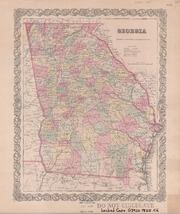 Georgia by Colton, J. H. (Joseph Hutchins), 1800-1893