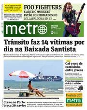 Metro Brazil - Metro Santos - 2011-11-22 by Metro International