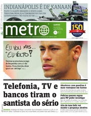 Metro Brazil - Metro Santos - 2013-05-27 by Metro International