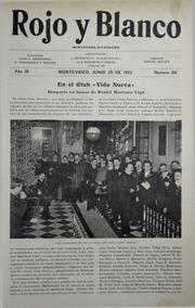 Revista Rojo Y Blanco. Año III. Numero L... by