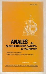 Anales Del Museo De Historia Natural De ... Volume Vol. v.13 (1980) by Museo De Historia Natural De Valparaíso (Valparai...
