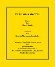 Bhagavad Gita in Spanish Language by Suvratsut