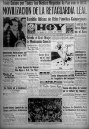 Hoy Año I Nr. 72 (6 Agosto 1938) by