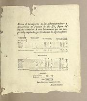 Razon De Los Ingresos De Las Administrac... by Ramírez, Alejandro, Active 1813-1816