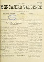 Mensajero Valdense, Vol. V.22, No.506 (M... Volume Vol. v.22, no.506 (mayo 15, 1940) by