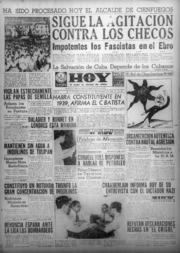 Hoy Año I Nr. 108 (17 Septiembre 1938) by