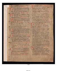 Civitate Dei X, 18-21 Fragment: by Yale