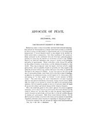 Advocate of Peace (1847-1884) : 1851 Vol... Volume Vol. 7 by Denton, James, S.
