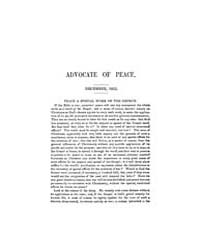 Advocate of Peace (1847-1884) : 1852 Vol... Volume Vol. 7 by Denton, James, S.