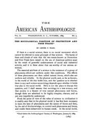 American Anthropologist : 1889 Vol. 2 No... Volume Vol. 2 by Chibnik, Michael