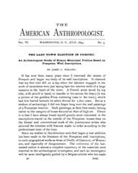 American Anthropologist : 1893 Vol. 6 No... Volume Vol. 6 by Chibnik, Michael