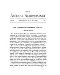 American Anthropologist : 1896 Vol. 9 No... Volume Vol. 9 by Chibnik, Michael