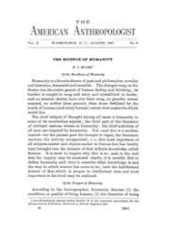 American Anthropologist : 1897 Vol. 10 N... Volume Vol. 10 by Chibnik, Michael