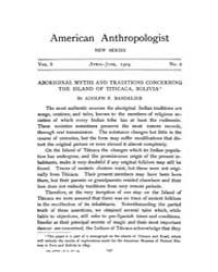 American Anthropologist : 1904 New Serie... Volume Vol. 6 by Chibnik, Michael