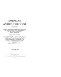 American Anthropologist : 1908 New Serie... Volume Vol. 10 by Chibnik, Michael