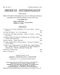 American Anthropologist : 1912 New Serie... Volume Vol. 14 by Chibnik, Michael