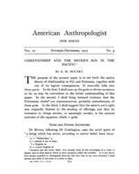 American Anthropologist : 1915 New Serie... Volume Vol. 17 by Chibnik, Michael
