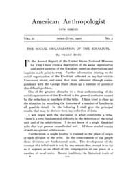 American Anthropologist : 1920 New Serie... Volume Vol. 22 by Chibnik, Michael