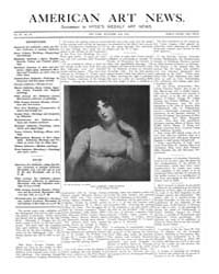American Art News : 1904 Vol. 3 No. 53 N... Volume Vol. 3 by Esterow, Milton