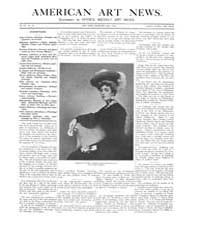 American Art News : 1904 Vol. 3 No. 59 D... Volume Vol. 3 by Esterow, Milton