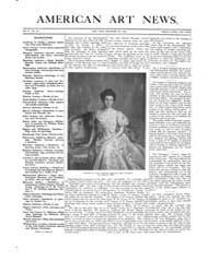 American Art News : 1905 Vol. 4 No. 12 D... Volume Vol. 4 by Esterow, Milton