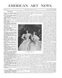 American Art News : 1905 Vol. 4 No. 5 No... Volume Vol. 4 by Esterow, Milton