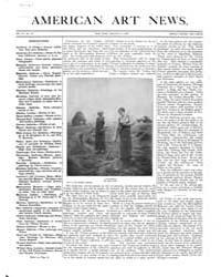 American Art News : 1906 Vol. 4 No. 13 J... Volume Vol. 4 by Esterow, Milton