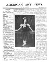 American Art News : 1906 Vol. 4 No. 14 J... Volume Vol. 4 by Esterow, Milton