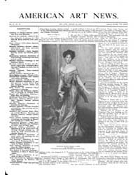 American Art News : 1906 Vol. 4 No. 15 J... Volume Vol. 4 by Esterow, Milton