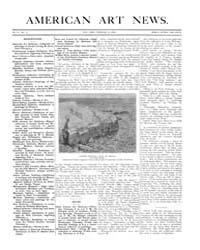 American Art News : 1906 Vol. 4 No. 17 F... Volume Vol. 4 by Esterow, Milton