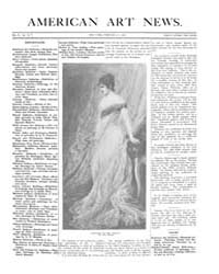 American Art News : 1906 Vol. 4 No. 19 F... Volume Vol. 4 by Esterow, Milton