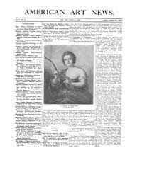 American Art News : 1906 Vol. 4 No. 23 M... Volume Vol. 4 by Esterow, Milton