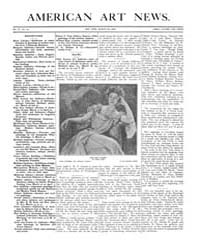American Art News : 1906 Vol. 4 No. 24 M... Volume Vol. 4 by Esterow, Milton