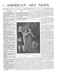American Art News : 1906 Vol. 4 No. 26 A... Volume Vol. 4 by Esterow, Milton