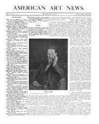 American Art News : 1906 Vol. 4 No. 29 A... Volume Vol. 4 by Esterow, Milton