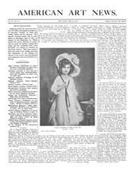 American Art News : 1906 Vol. 4 No. 32 J... Volume Vol. 4 by Esterow, Milton