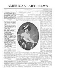 American Art News : 1906 Vol. 4 No. 33 J... Volume Vol. 4 by Esterow, Milton