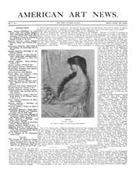 American Art News : 1906 Vol. 5 No. 1 Oc... Volume Vol. 5 by Esterow, Milton