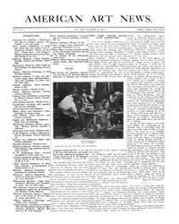 American Art News : 1906 Vol. 5 No. 4 No... Volume Vol. 5 by Esterow, Milton
