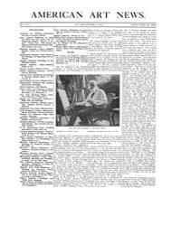 American Art News : 1906 Vol. 5 No. 5 No... Volume Vol. 5 by Esterow, Milton