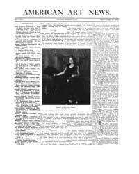 American Art News : 1906 Vol. 5 No. 8 De... Volume Vol. 5 by Esterow, Milton