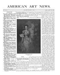 American Art News : 1906 Vol. 5 No. 9 De... Volume Vol. 5 by Esterow, Milton