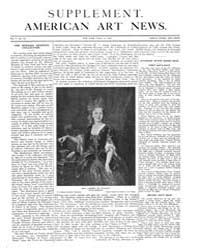 American Art News : 1907 Apr. 13 Supplem... Volume Vol. 5 by Esterow, Milton