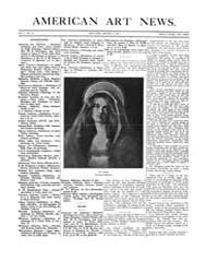 American Art News : 1907 Vol. 5 No. 12 J... Volume Vol. 5 by Esterow, Milton
