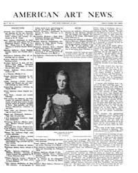 American Art News : 1907 Vol. 5 No. 18 F... Volume Vol. 5 by Esterow, Milton