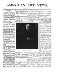 American Art News : 1907 Vol. 5 No. 20 M... Volume Vol. 5 by Esterow, Milton