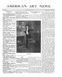 American Art News : 1907 Vol. 5 No. 29 M... Volume Vol. 5 by Esterow, Milton
