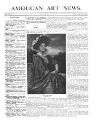 American Art News : 1907 Vol. 5 No. 30 M... Volume Vol. 5 by Esterow, Milton