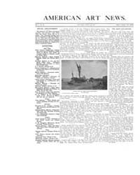 American Art News : 1907 Vol. 5 No. 33 A... Volume Vol. 5 by Esterow, Milton